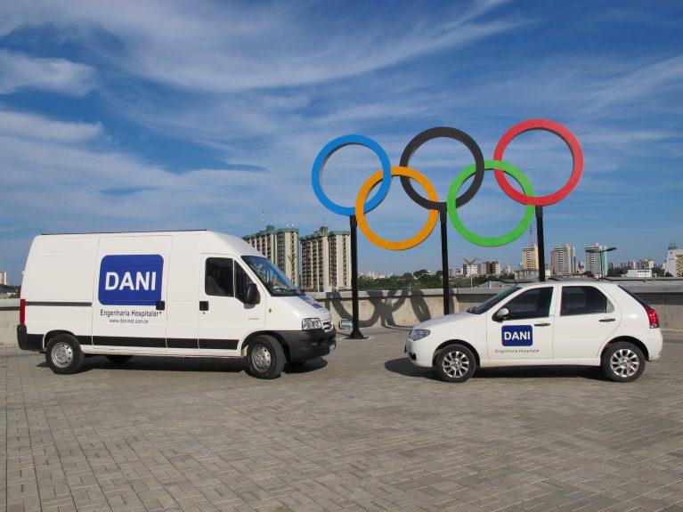 DANI na Olimpíada RIO 2016