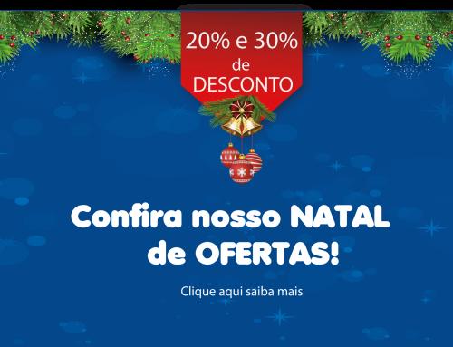 Promoção Natal de Ofertas – 20% a 30% de desconto